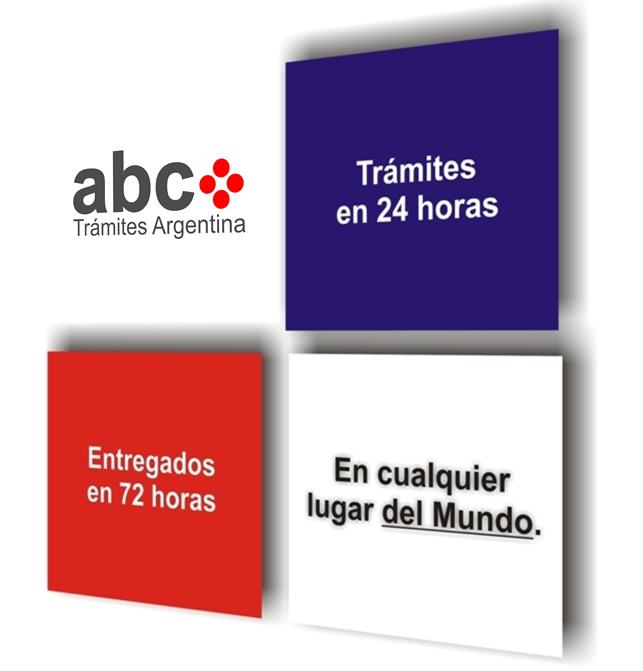 Partidas, Actas, Certificados de Nacimiento en Argentina - Apostilla ...